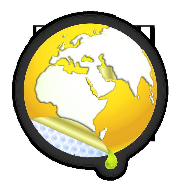 لوگوی نمایشگاه رنگ و رزین 99 زمین